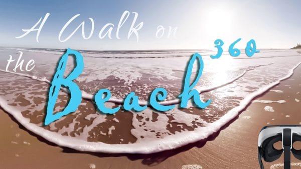 دانلود فیلم 360 درجه واقعیت مجازی قدم زدن در کنار ساحل