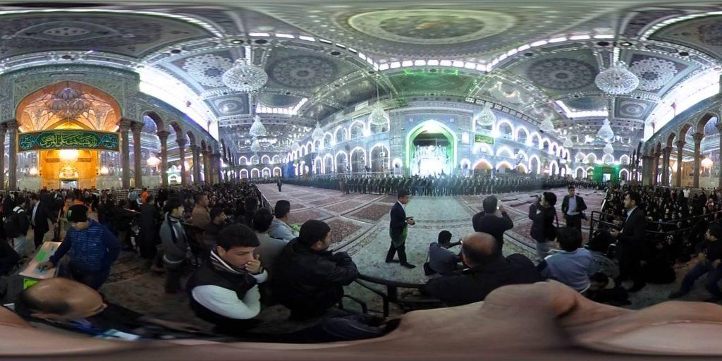 دانلود ویدئوی واقعیت مجازی حرم امام حسین کربلا