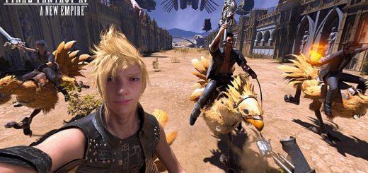 دانلود فیلم 360 درجه واقعیت مجازی بازی فاینال فانتزی Final Fantasy