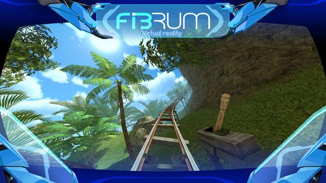 دانلود بازی ترن هوایی واقعیت مجازی Roller Coaster VR screenshot