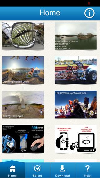 پیش نمایش برای : نرم افزار واقعیت مجازی فیلم 360Heros 360 Video Library