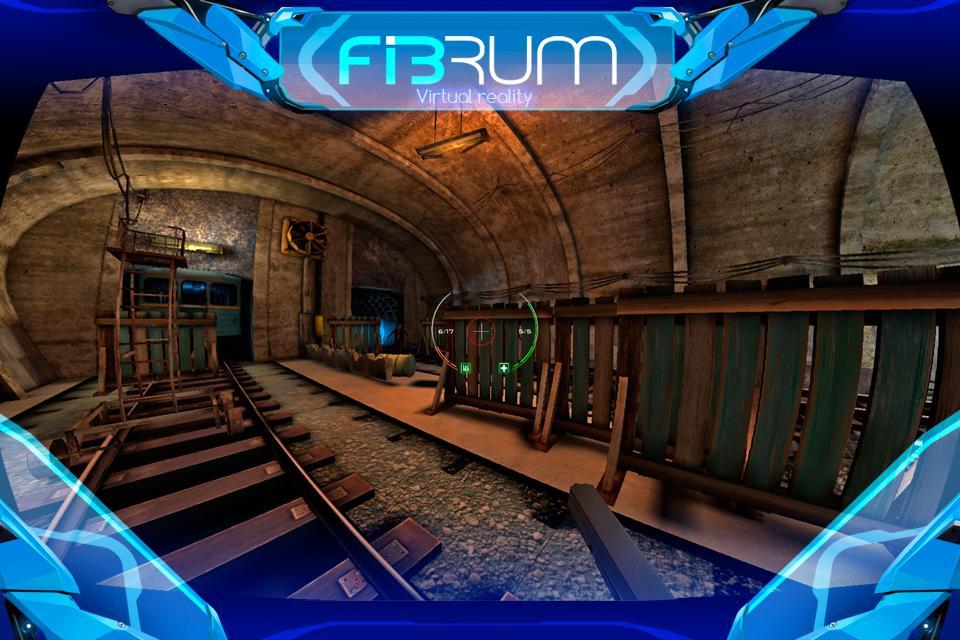 دانلود بازی واقعیت مجازی تیراندازی زامبی Zombie Shooter VR screenshot