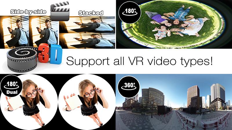 پیش نمایش برای : دانلود پلیر واقعیت مجازی AAA VR Cinema Cardboard 3D SBS
