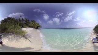 دانلود ویدئوی واقعیت مجازی 360 درجه سواحل مالدیو