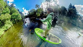 دانلود فیلم واقعیت مجازی قایق سواری در رودخانه آمازون