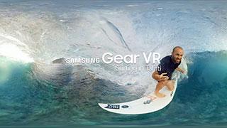 دانلود فیلم واقعیت مجازی موج سواری سامسونگ