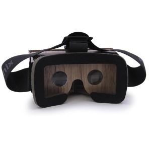 عینک واقعیت مجازی چوبی فونیکس لایت قهوه ای از درون