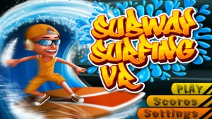 تصویر بازی واقعیت مجازی subway surfing