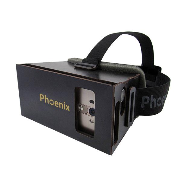 عینک واقعیت مجازی چوبی فونیکس لایت مشکی