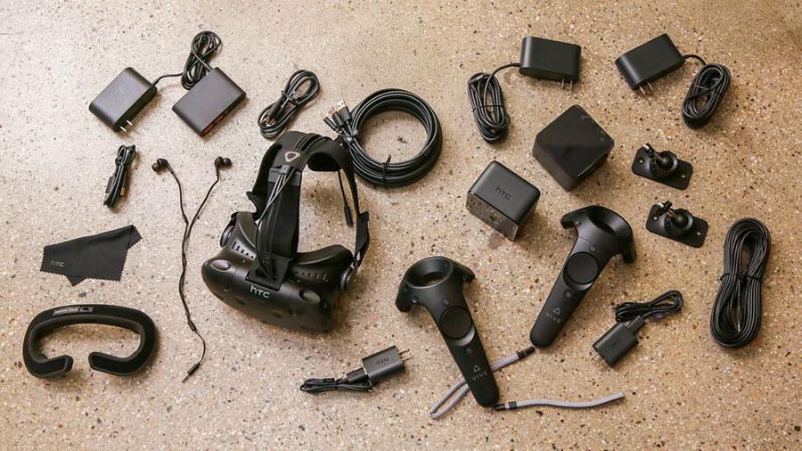 قطعات هدست عینک واقعیت مجازی اچ تی سی وایو HTC vive