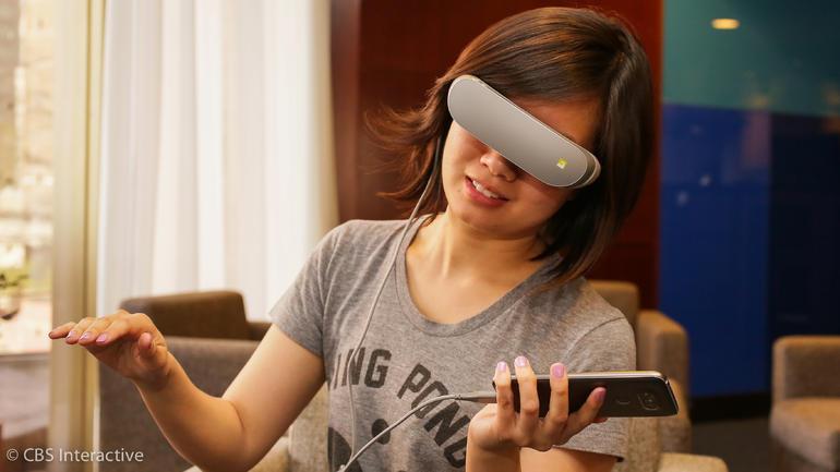 هدست واقعیت مجازی ال جی LG 360 VR 2