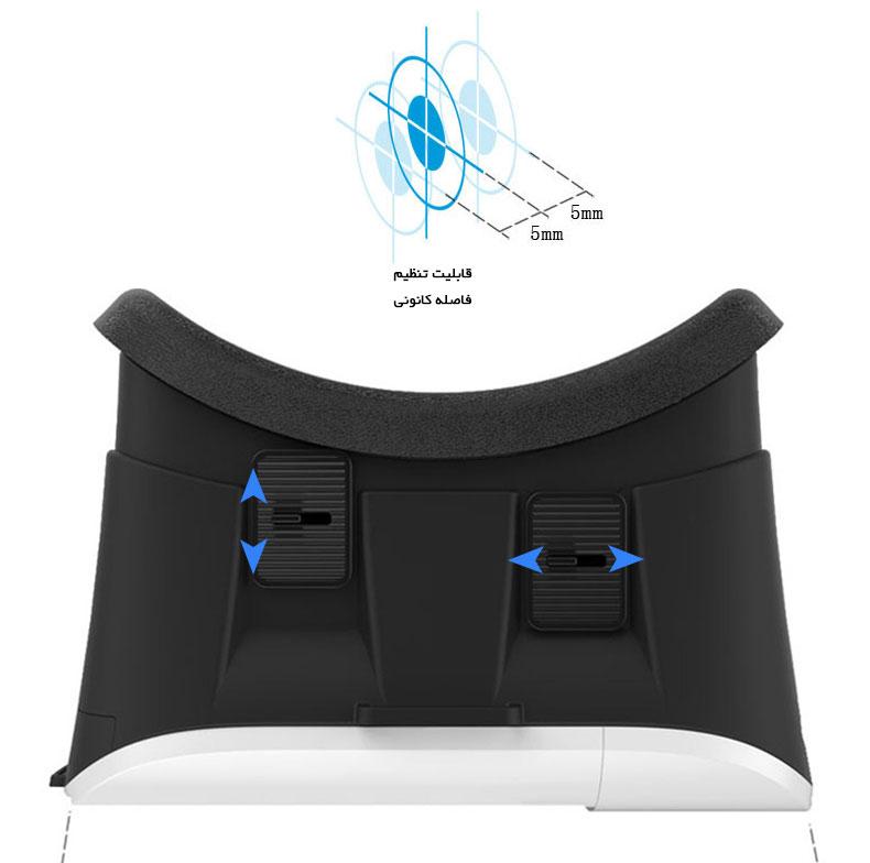 لنز هدست واقعیت مجازی VR Box 2