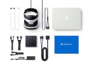 محتویات هدست واقعیت مجازی سونی پلی استیشن SONY Playstation VR