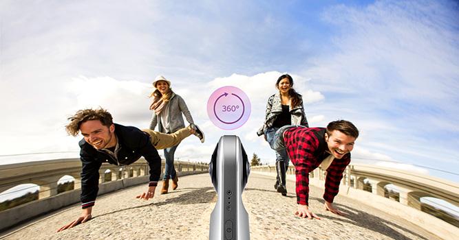 دوربین واقعیت مجازی 360 درجه ال جی LG 360 cam 5