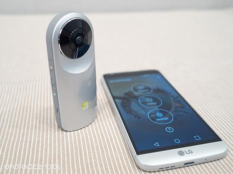 دوربین واقعیت مجازی 360 درجه ال جی LG 360 cam 6
