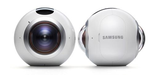 دوربین واقعیت مجازی 360 درجه سامسونگ SAMSUNG Gear 360 camera
