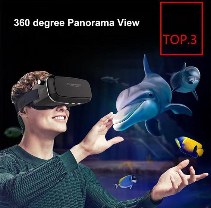 هدست واقعیت مجازی وی آر شاینکن VR SHINECON 21