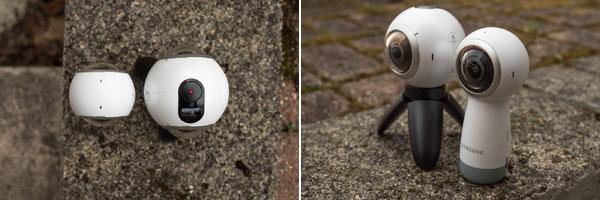 مقایسه دوربین واقعیت مجازی 360 درجه سامسونگ SAMSUNG Gear 360 2017