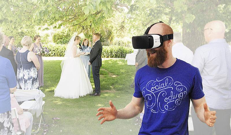 فیلمبرداری از جشن های عروسی به صورت 360 درجه