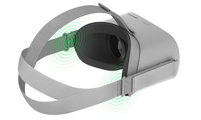 سیستم صوتی هدست واقعیت مجازی اکیولس گو Oculus Go