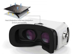 کیفیت قطعات اصلی عینک وی آر شاینکن VR SHINECON