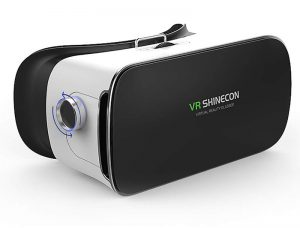 تنظیم فاصله کانونی عینک وی آر شاینکن VR shinecon