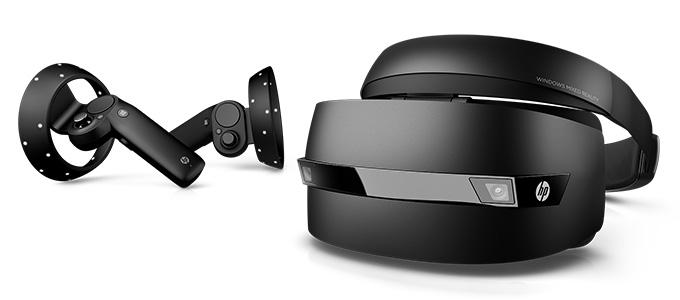 عینک واقعیت ترکیبی اچ پی HP Windows Mixed Reality Headset با کنترلر