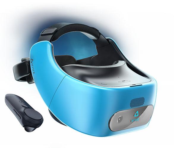 عینک واقعیت مجازی اچ تی سی وایو فوکوس HTC vive focus با کنترلر