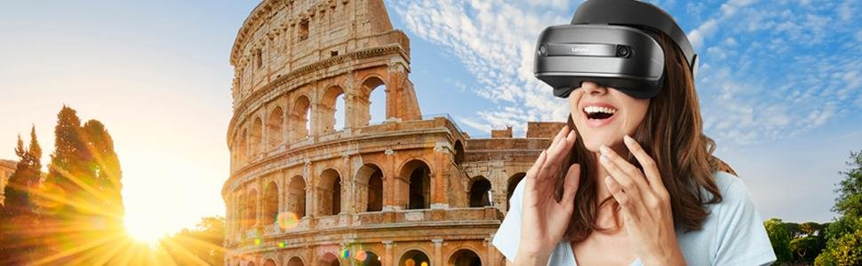 هدست واقعیت ترکیبی لنوو Lenovo Windows Mixed Reality Headset