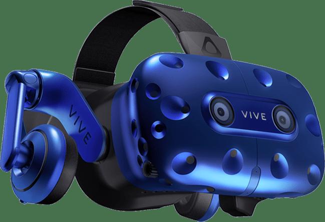 عینک واقعیت مجازی اچ تی سی وایو پرو HTC vive pro از جلو