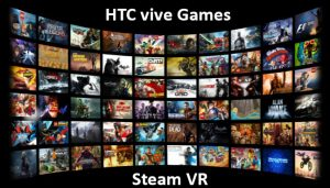 بازی های اختصاصی عینک اچ تی سی وایو HTC VIVE